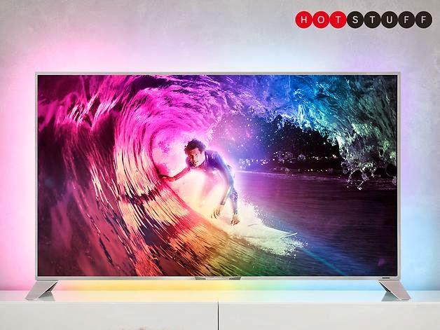 A Philips planeja lançar uma televisão de 55 polegadas, 4k, Ambilight com Android como sistema operacional