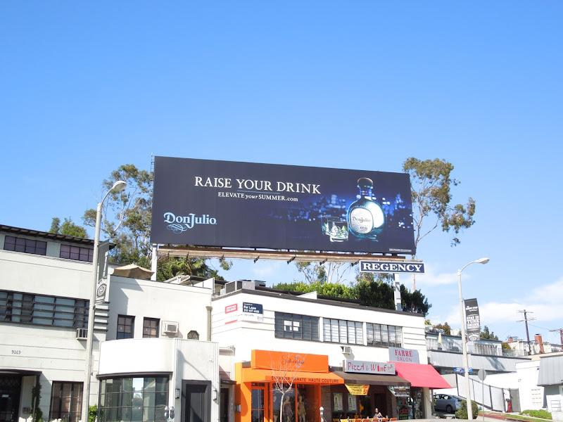 Don Julio Raise drink billboard