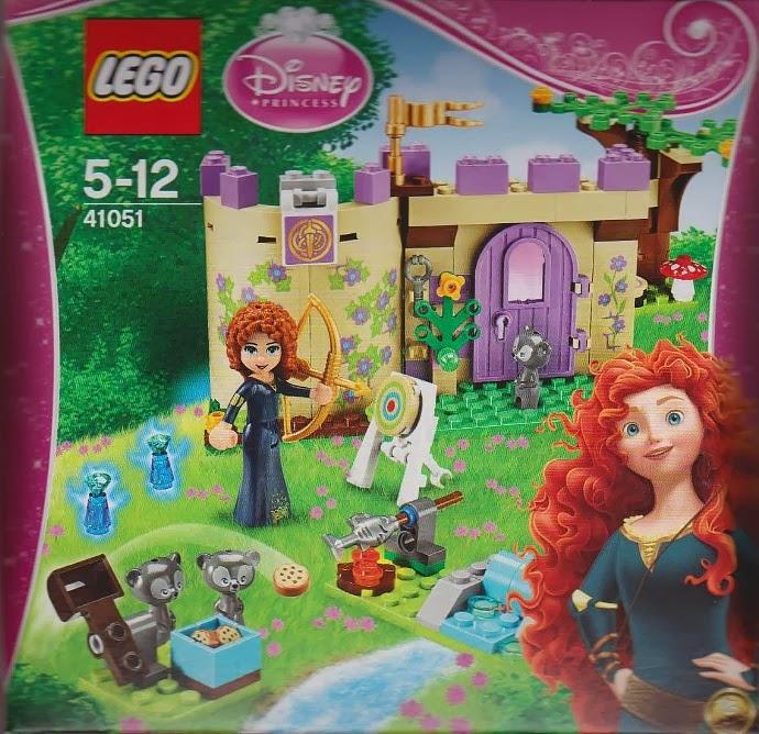41051 - Merida's Highland Games (Disney Princess)