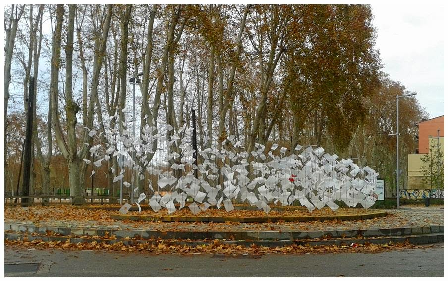 Projecte encens. Il·luminació de Nadal a Girona
