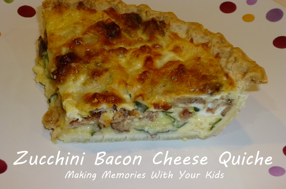 quiche zucchini bacon and gruyere cheese quiche cheddar gruyere bacon ...