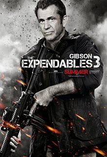 Mel Gibson in Expendables 3 Poster