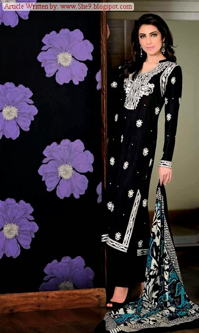 Pure Woolen Dress Collection 2014-2015