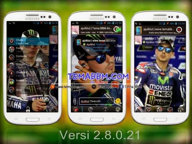 Tema BBM Lorenzo Versi 2.8.0.21