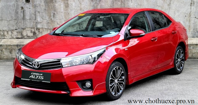 Cho thuê xe 4 chỗ Toyota Altis cao cấp