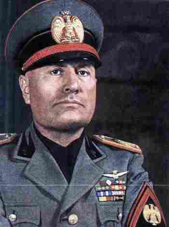 a history of the rule of benito mussolini in fascist italy The rise of hitler and mussolini - adolf hitler and benito mussolini used strife in   they were attracted to new forms of authoritarian and collectivist rule  militant  veteran, benito mussolini, established the italian fascist movement in 1919.