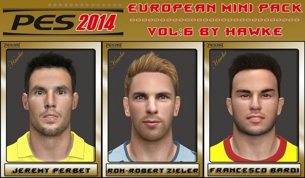 PES 2014 European Mini Pack Vol 6 by Hawke