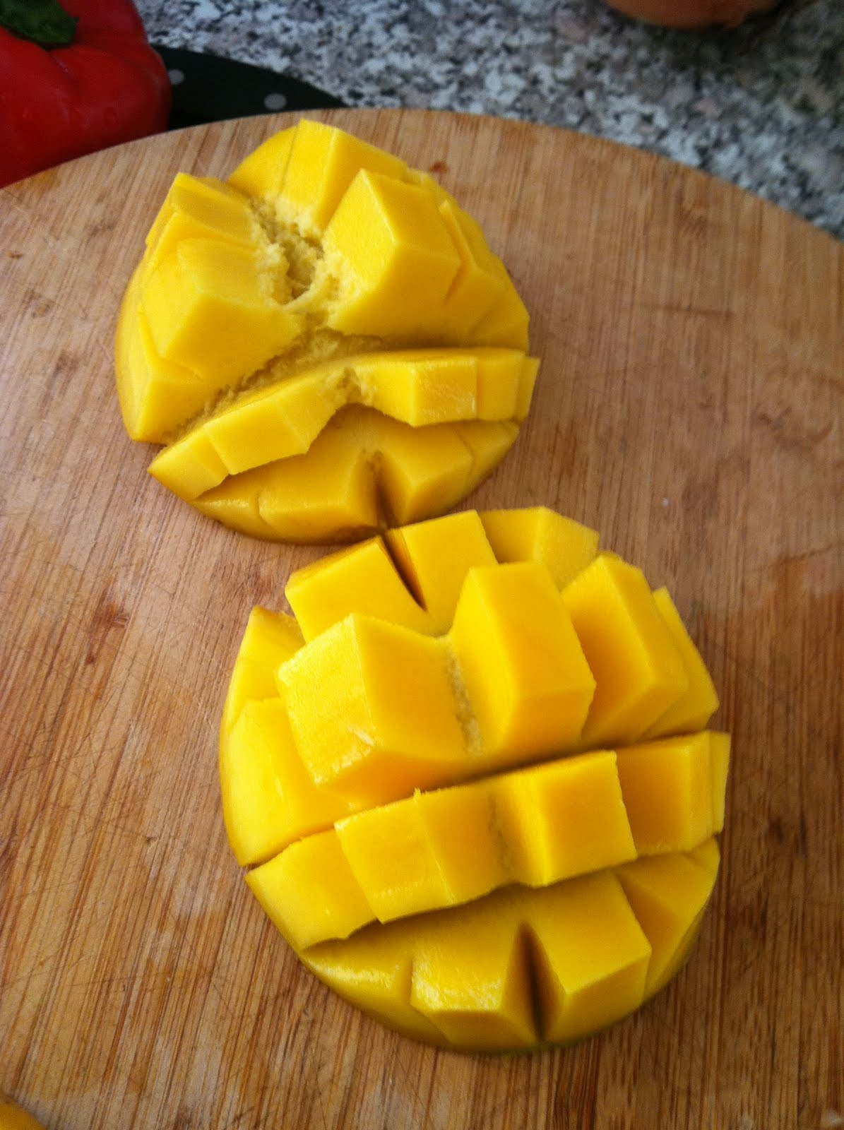 Cutting A Mango Can Be A Messy Adventure When I Was Going To Grad School In