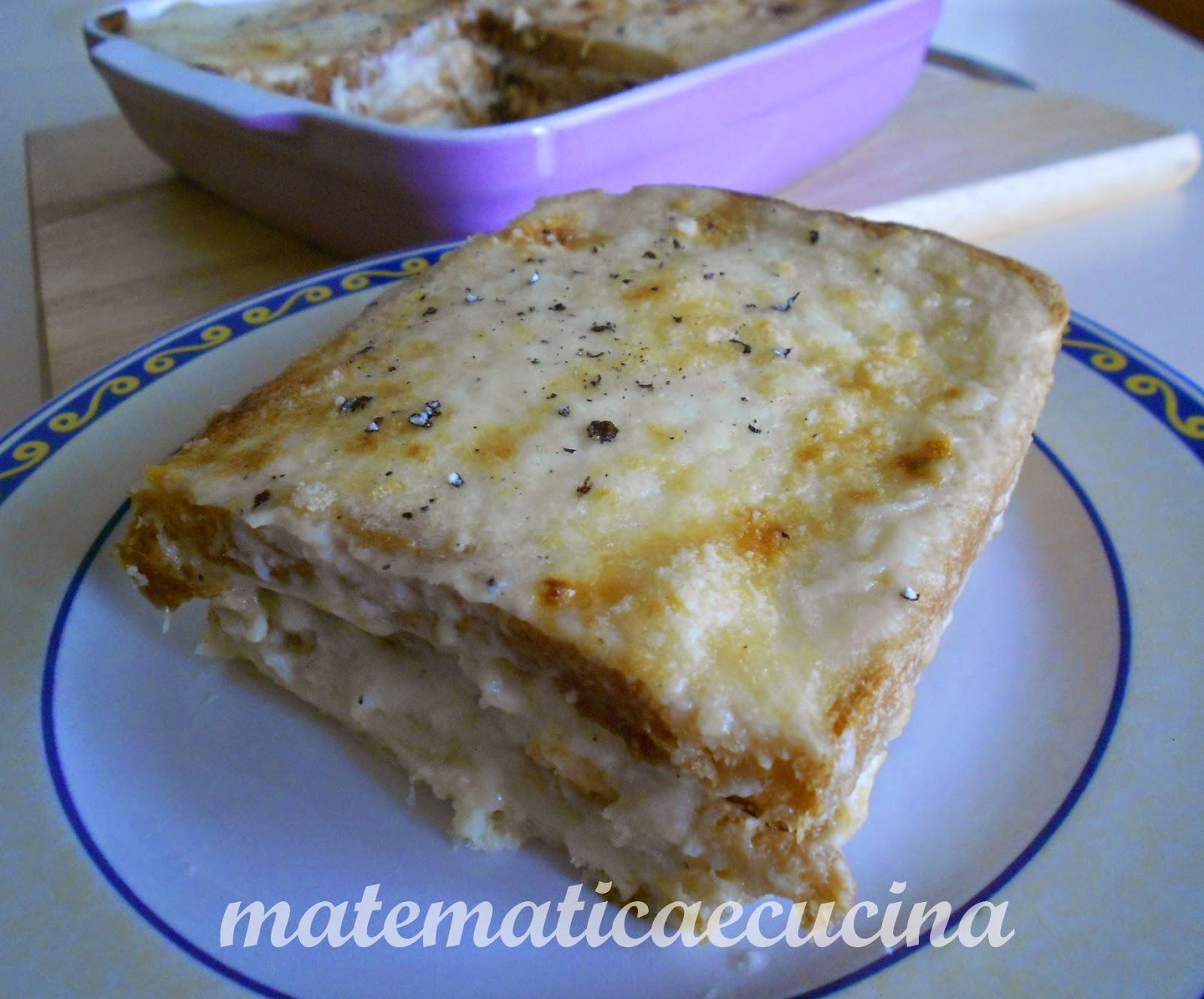 torta salata di pan carrè con prosciutto cotto e mozzarella