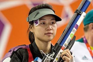 Atiradora olímpica