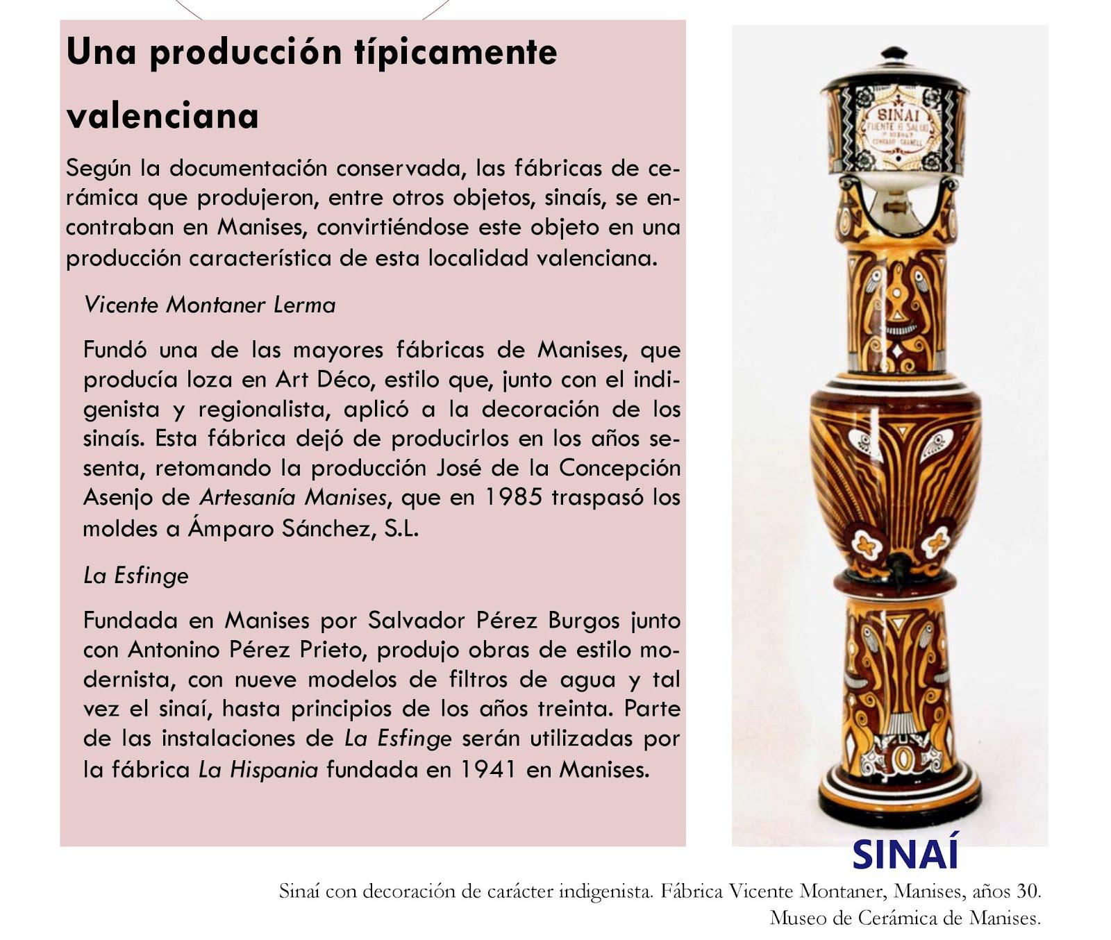 29.11.16 CERÁMICA TÍPICA DE MANISES: EL SINAÍ