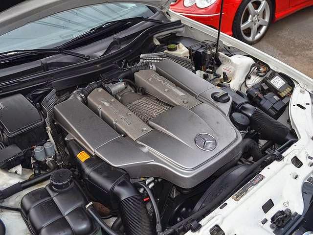 slk amg engine