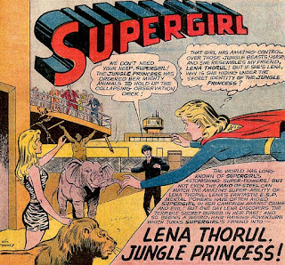 Superboy 100 page Super Spectactular DC-21, Supergirl, Lena Thorul, Jungle Princess