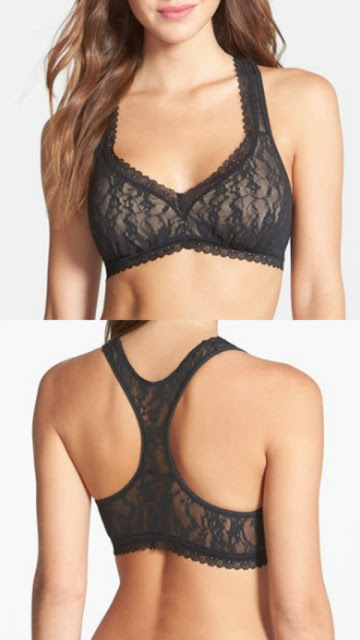 Racerback lace bras for summer outfits
