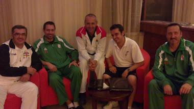 Los cinco españoles en Madagascar 2011.