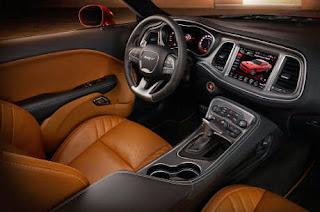 Interior Dodge Challenger SRT Hellcat