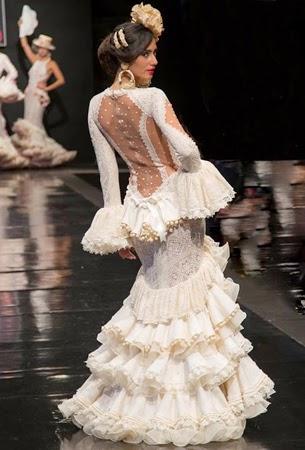 vestido flamenca el abanico artesanía