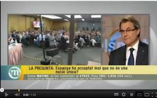 """Artur Mas: """"La independència clàssica no ens convé"""""""