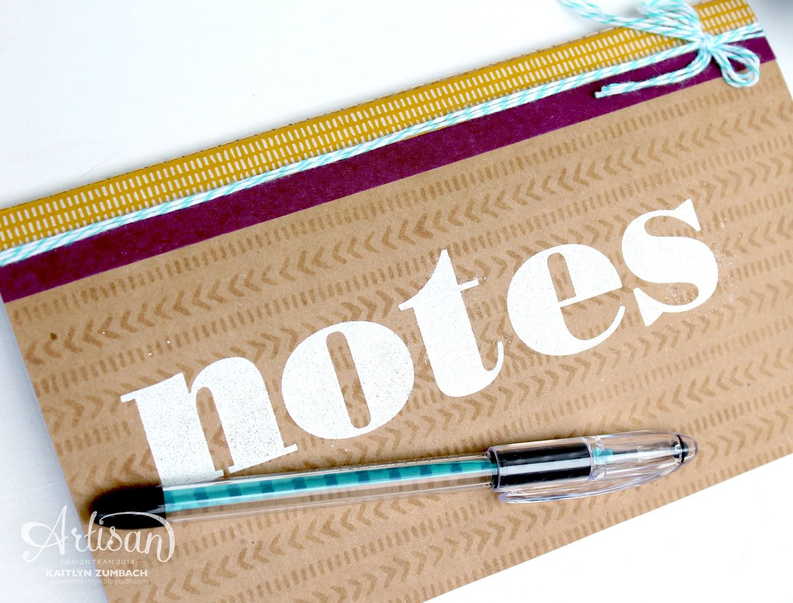 Bohemian Notebook - Stampin' Up! Artisan Blog Hop / Create with ...