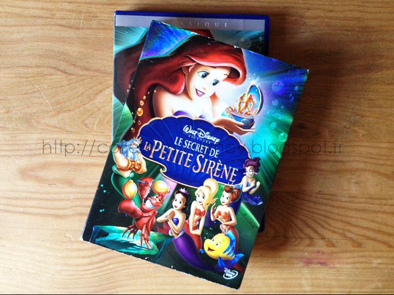 Collection dvd disney 92 le secret de la petite sir ne - Le secret des sirene ...