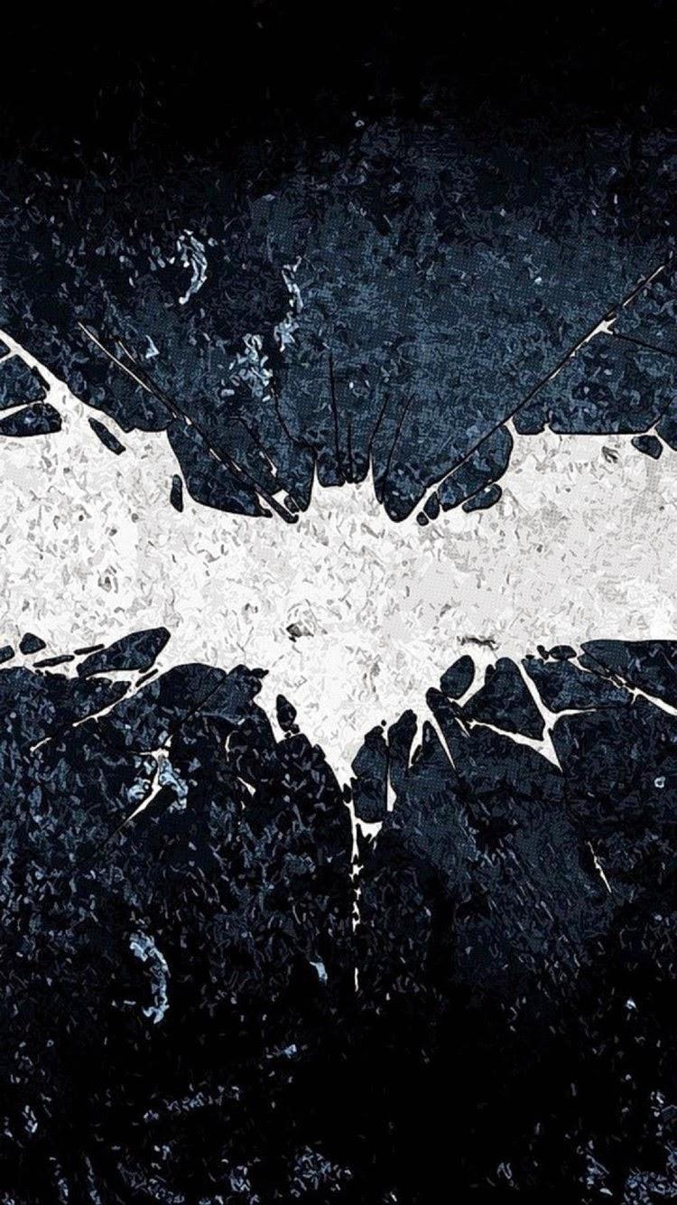 iPhone 6 Batman logo