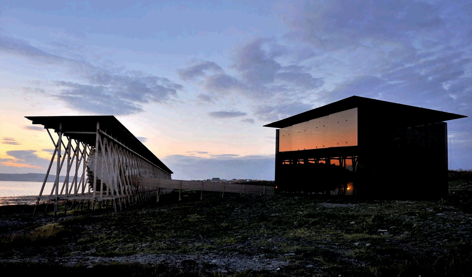 steilneset minnested by peter zumthor