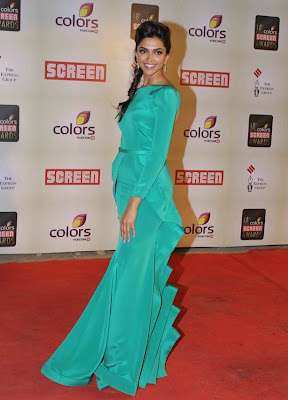 Deepika Screen Awards indian fashion