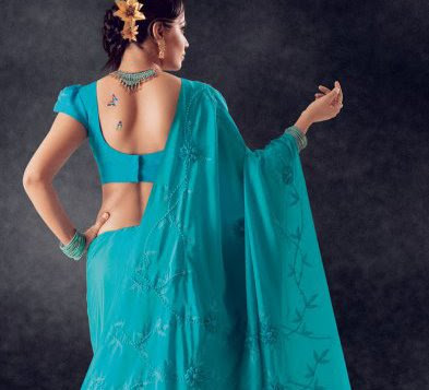 50 Saree Blouse Designs | ChillXBuzz - ChillX Buzz