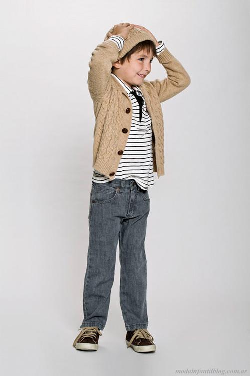 moda infantil pioppa invierno 2013