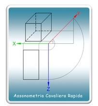Creare una Assonometria Cavaliera da un file 3D