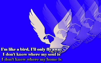 I'm Like A Bird - Nelly Furtado Song Lyric Quote in Text Image