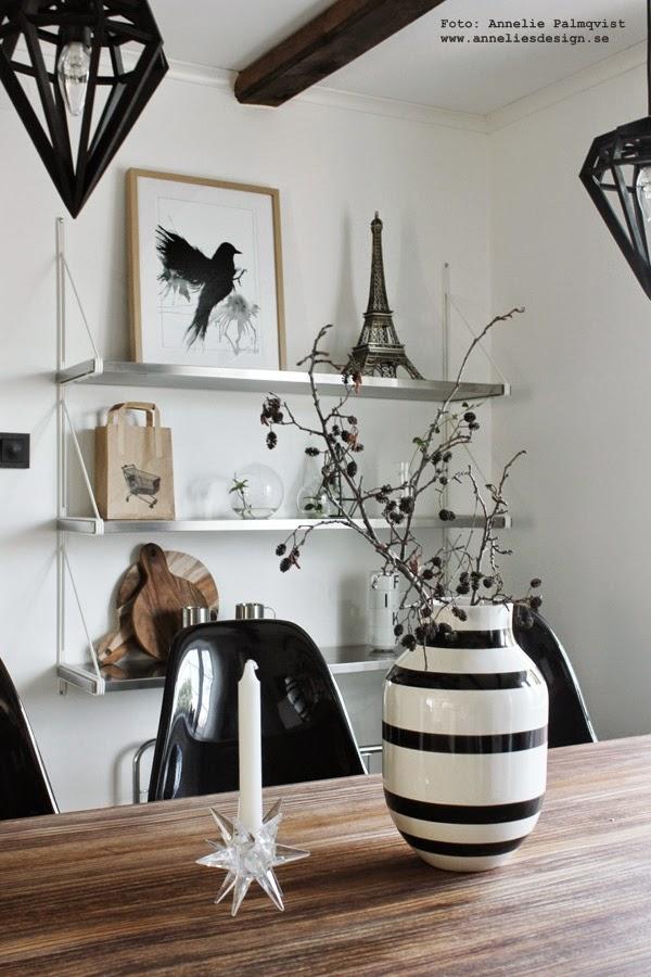k?ket  poster i svart och vitt, svartvita, svartvit, tavla, tavlor