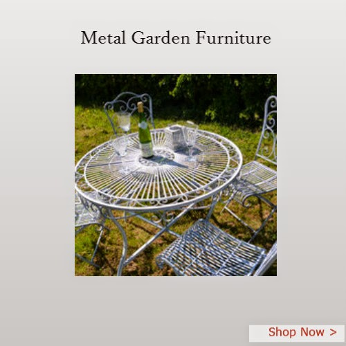 Vintage Metal Garden Furniture Vintage
