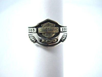 Harley Davidson Wedding Bands on Harley Davidson 100th Anniversary Rings For Sale   Harley Davidson