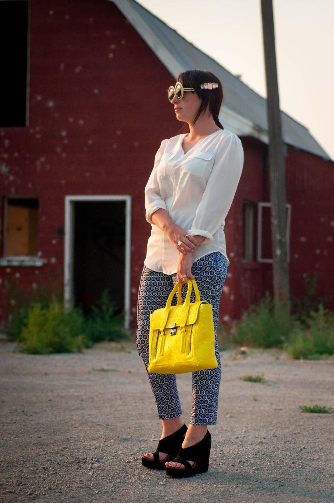 ootd, what I wore, fashion blog, style blog, karen walker sunglasses, target style, pedro garcia shoes
