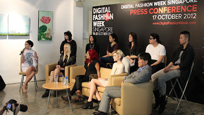 Digital Fashion Week press conference