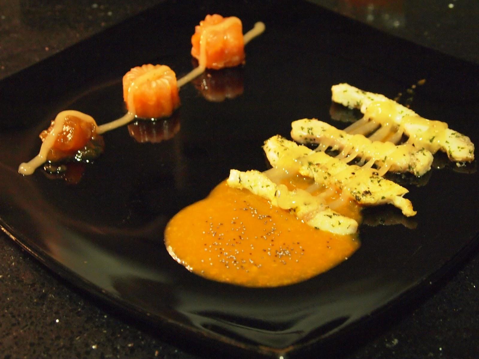 Cocina creativa alta cocina en casa noviembre 2011 for Cocinar tintorera
