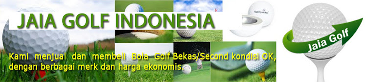 JUAL BOLA GOLF - JAIA GOLF INDONESIA