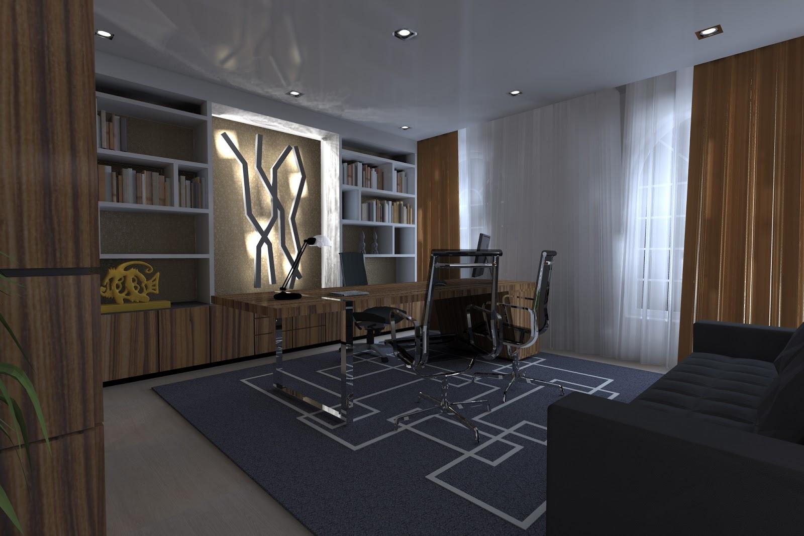 Designer hugo vaz home office cliente particular zimbabwe for Office design zimbabwe
