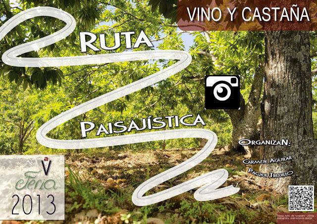 Ruta paisajística. V Feria del Vino y la Castaña de Yunquera