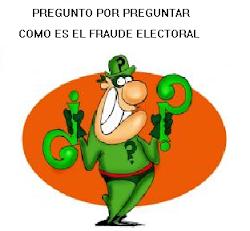 COMO SON LOS FRAUDES ELECTORALES ELECTRONICOS