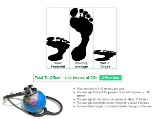 A Carbon Footprint