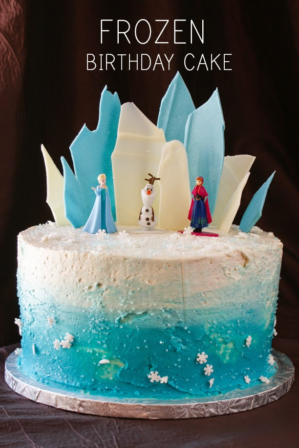 Frozen Themed Cake Designs : My Gluten Free Bakery: Layer Cake Share - Frozen Theme ...