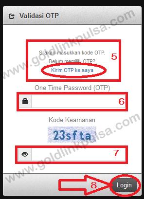 webreport goldlink pulsa murah