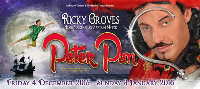 Ricky Groves as Captain Hook