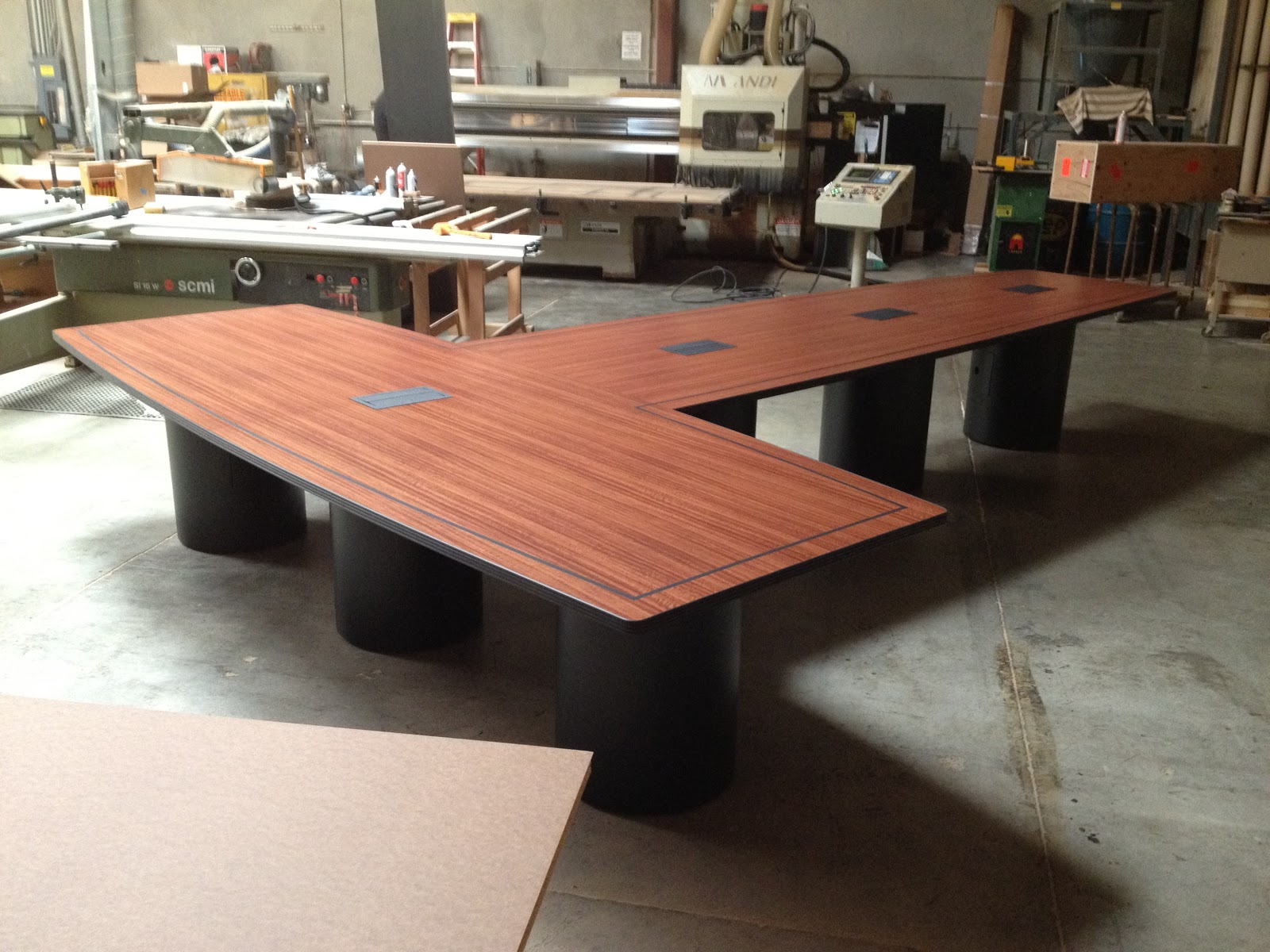 Custom Conference Tables Unusual TShaped Custom Board Room Table - T shaped conference table