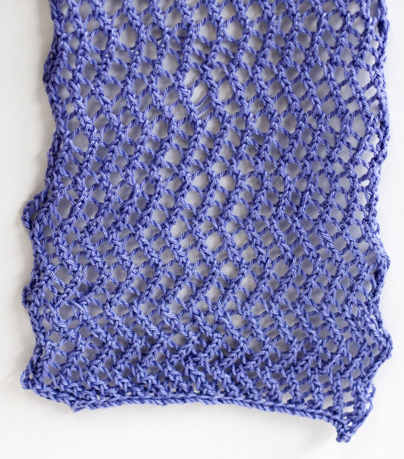 Knit Zig Zag Pattern : Cascade Yarns Blog: Ultra Pima Fine - ZigZag Lace Scarf/Wrap