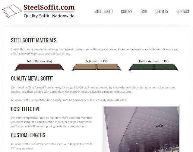 Steel Soffit