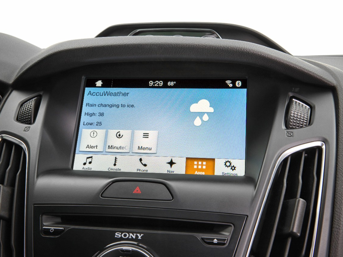 Ford SYNC AppLink & AccuWeather Team Up to Bring Customers Hyper-Localized Weather Forecasts