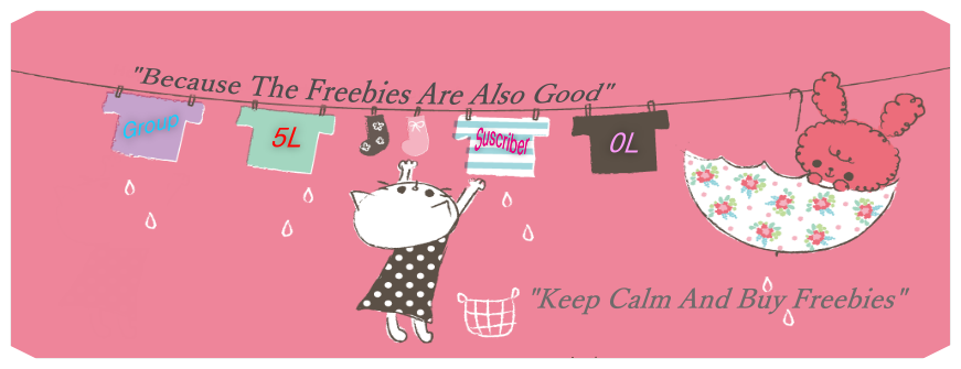 Keep Calm And Love Freebies